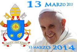 Azi se împlinește un an de la alegerea Papei Francisc