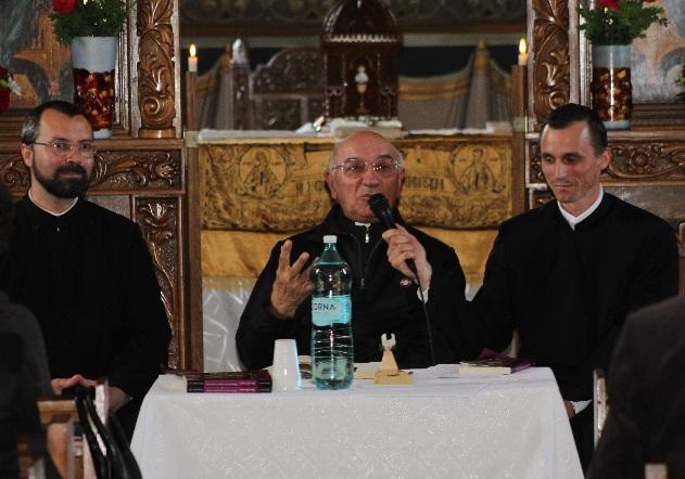 FOTO:  Lansarea cărţii Pr. Prof. Renzo Lavatori la Blaj