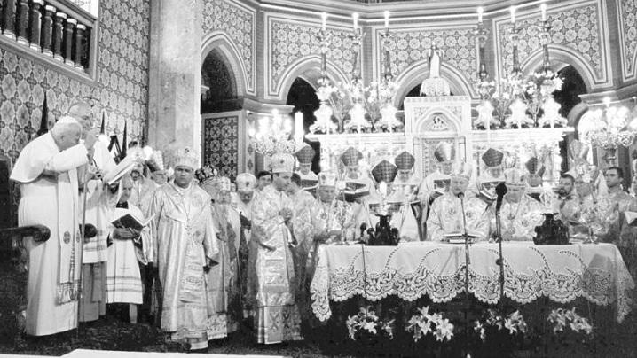 Predica Sf. Ioan Paul al II-lea adresată greco-catolicilor cu ocazia vizitei în România