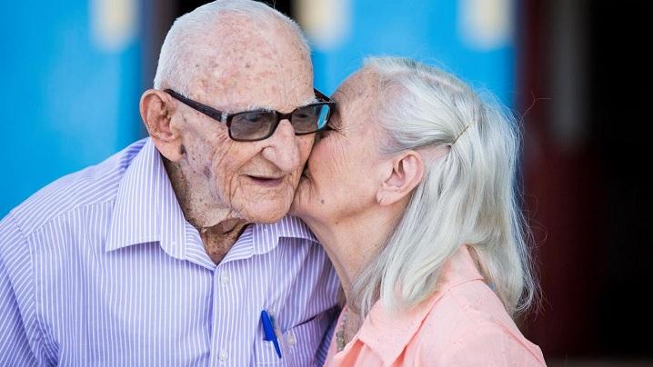 65 de ani de căsătorie. O viață petrecută împreună