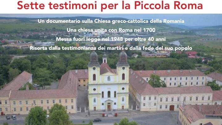 """Filmoteca Vaticană: """"Șapte martori pentru Mica Romă"""". Interviu cu Anca Berlogea-Boariu"""