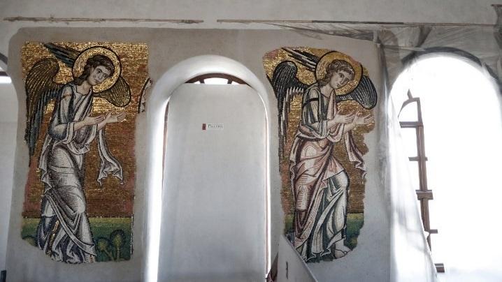 A fost decoperit un înger în Biserica Nașterii Domnului din Betleem