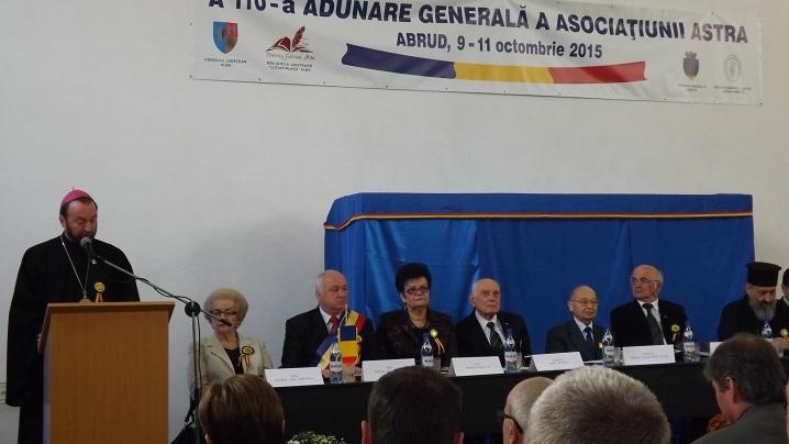 FOTO: Lucrările celei de-a 110-a Adunări Generale a Asociațiunii ASTRA la Abrud
