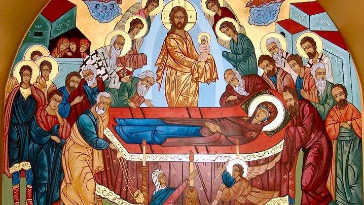 Astăzi cerul îşi deschide sânul său. Sărbătoarea Adormirii Maicii Domnului în tradiţia bizantină