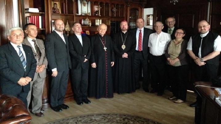 Cardinalul Lucian a dat binecuvântarea Sa noii Conduceri AGRU