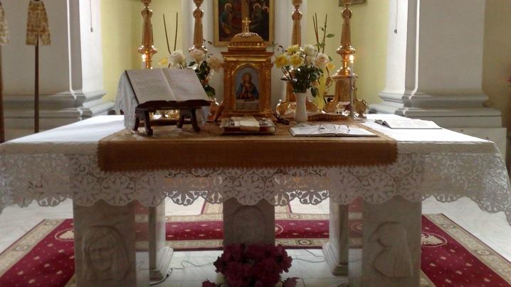 Care este semnificația altarului unei biserici?