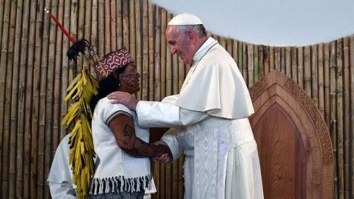 """Papa Francisc a promulgat exortația apostolică post-sinodală """"Querida Amazonia"""""""
