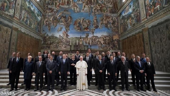 Papa, apel adresat Europei : Să se investească în viață, familie și tineri!