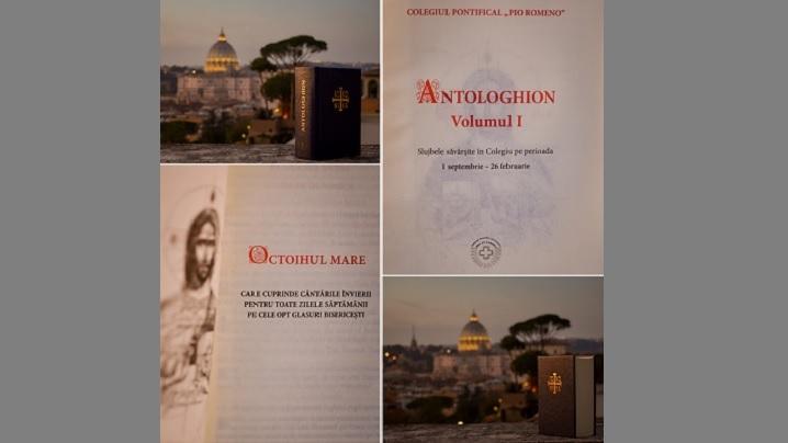 Antologhion volumul I – Apariție editorială Pio Romeno