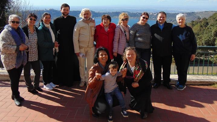 FOTO: Reculegere spirituală la Ariccia