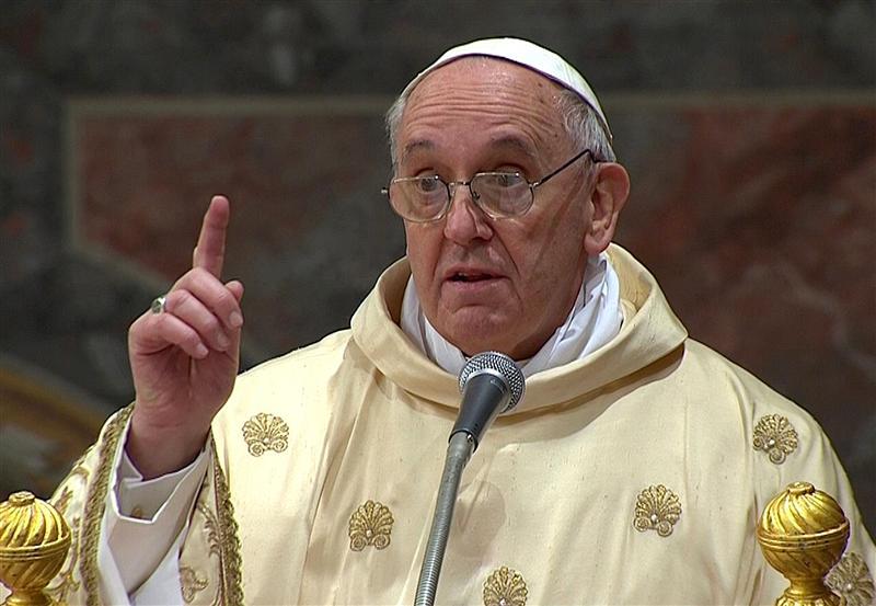 Apel al Papei Francisc la libertatea profesării propriei credințe