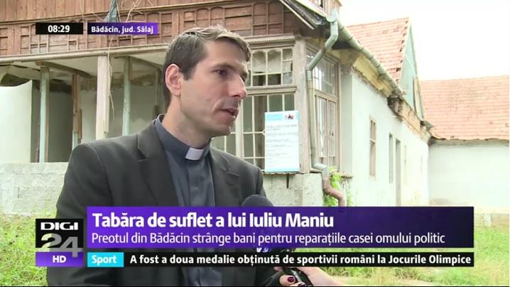 Un preot greco-catolic duce mai departe o dorință din testamentul lui Iuliu Maniu