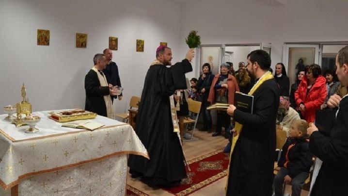 """FOTO: Sfințirea Școlii Confesionale """"Ep. Dr. Alexandru Rusu"""""""