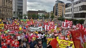 8.000 de participanţi la cel mai mare marş pro-viaţă din Belfast