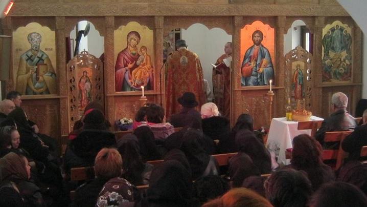 FOTO: Binecuvantarea bisericii din Cătina