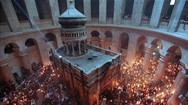Celebrarea euharistică ecumenică la Sfântul Mormânt