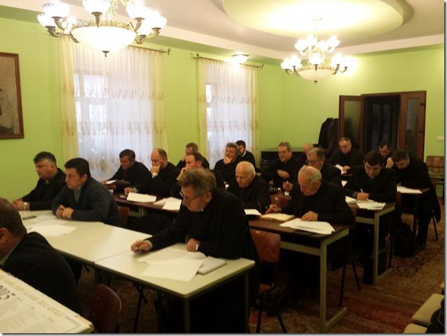 Întrunirea protopopilor Arhieparhiei, la Blaj