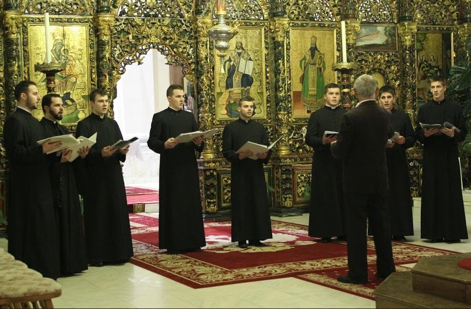 """FOTO/VIDEO: Concertul studenţilor Institutului Teologic """"Bunavestire"""" în Catedrala din Blaj"""