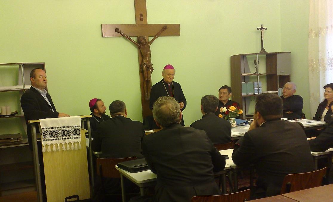 BLAJ: Întrunirea protopopilor și a membrilor Consiliului preoțesc