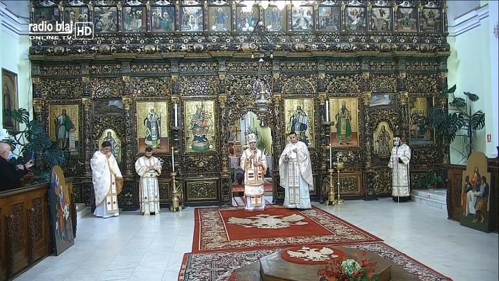 FOTO: Hirotoniri în Catedrala Blajului