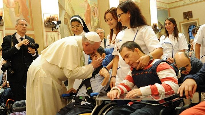 Mesajul Sfântului Părinte Francisc pentru a XXVIII-a Zi Mondială a Bolnavului 2020