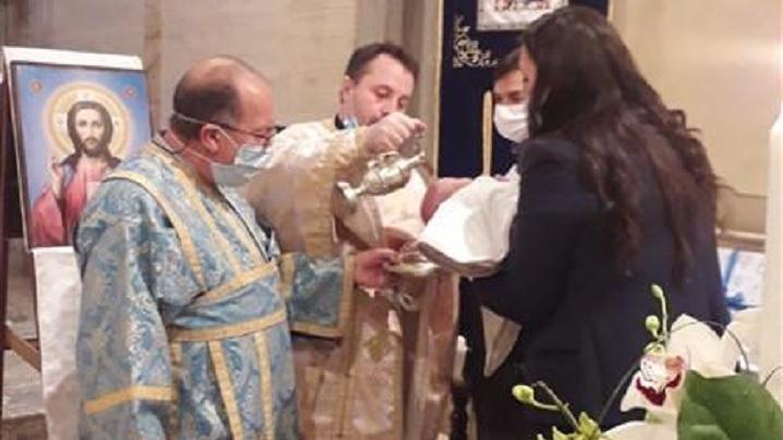 Botez în comunitatea din Padova