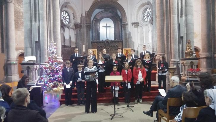 Colinde româneşti în Biserica Regală Sfânta Maria din Bruxelles