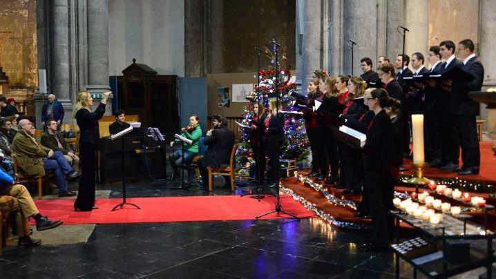 La Betleem colo-n jos: Corala greco-catolică Bruxelles