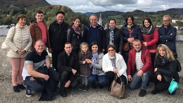 Pelerinajul credincioșilor greco-catolici din Bruxelles la Lourdes