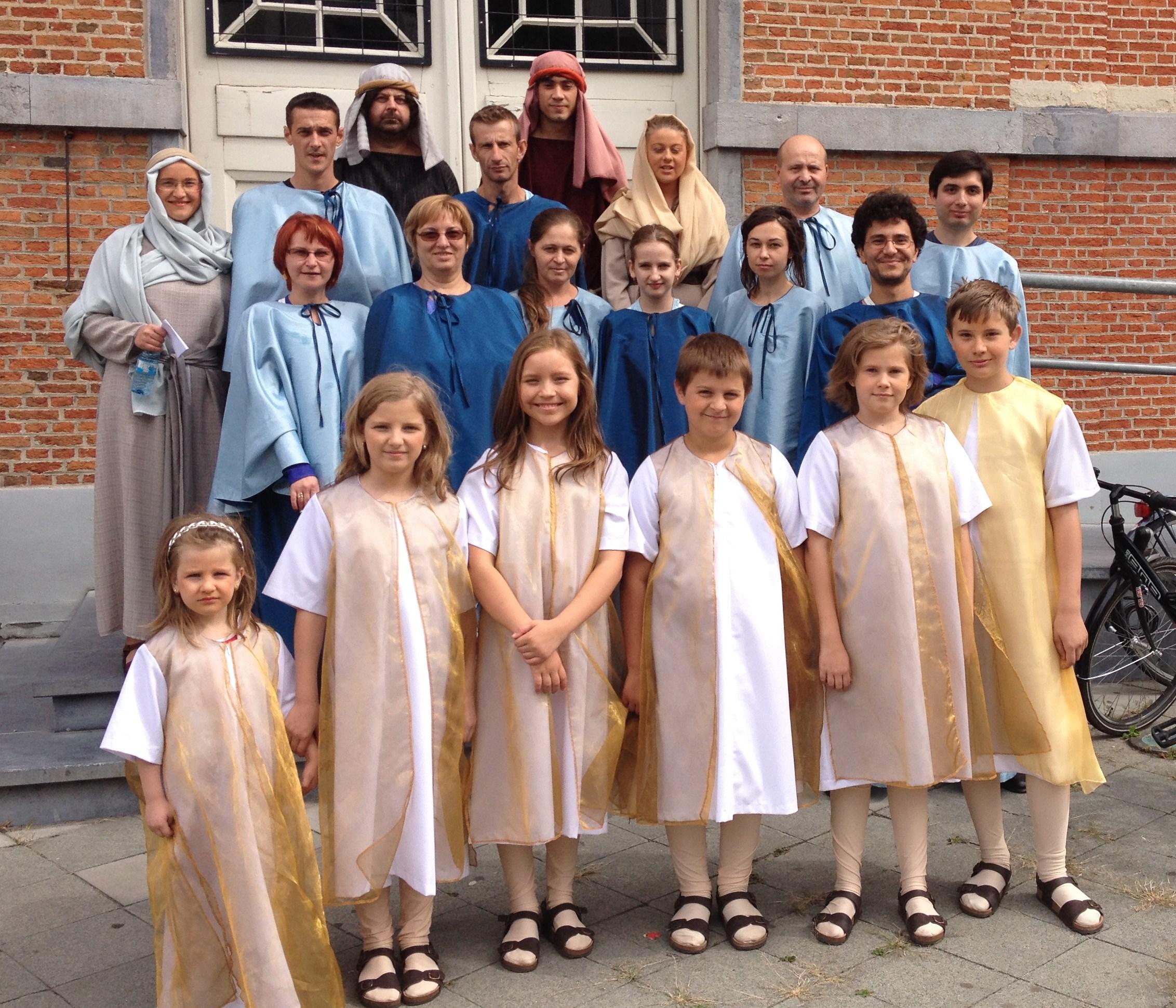 Comunitatea românilor greco-catolici din Bruxelles, la sărbătoarea jubiliară a procesiunii din Hanswijk
