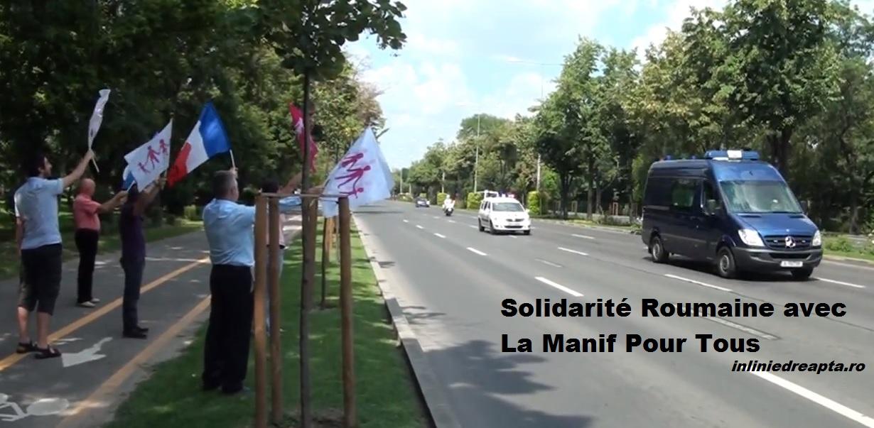 România: Solidară cu La Manif Pour Tous