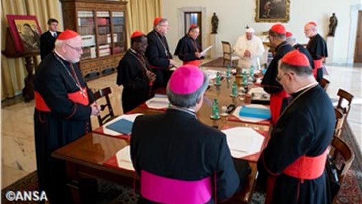 S-a încheiat reuniunea Consiliului celor nouă cardinali