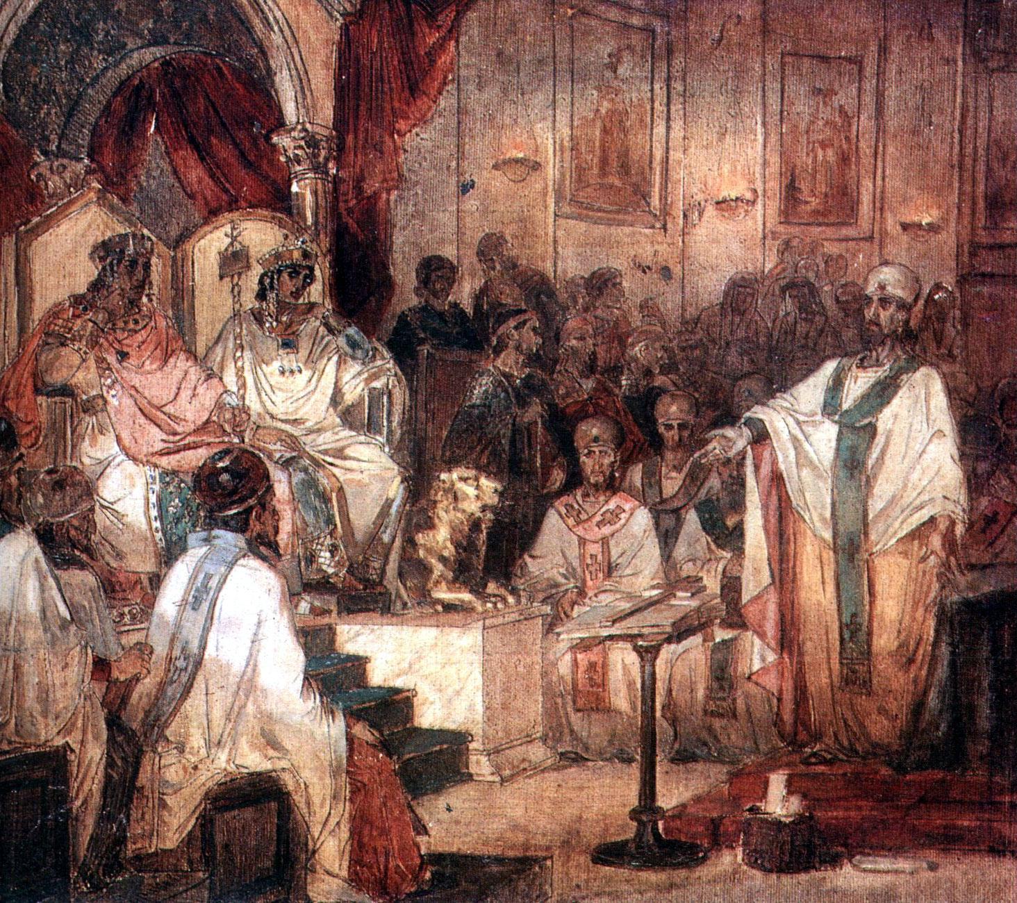 08 octombrie 451: deschiderea Sinodului de la Calcedon