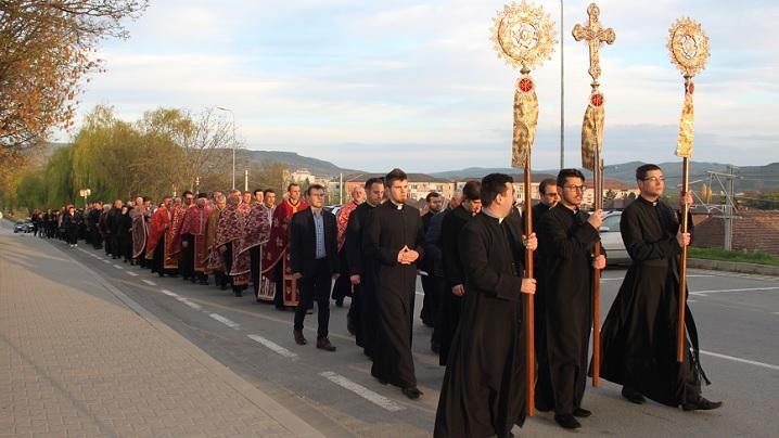 ANUNȚ: Calea Crucii cu procesiune prin Blaj