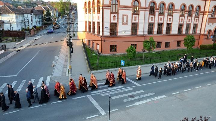 Foto: Calea Crucii cu procesiune la Blaj