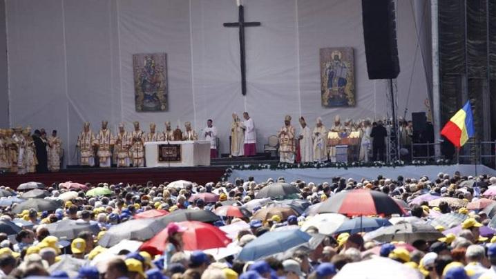 În cifre, ceremoniile oficiate de Sanctitatea Sa Papa Francisc pe Câmpia Libertății