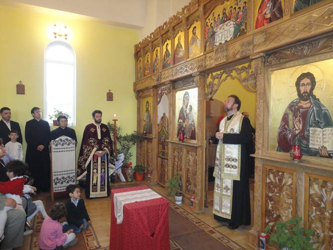 Vizită pastorală a Preasfinţiei Sale Claudiu în parohia Căpâlna