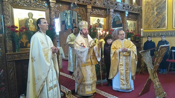 FOTO: Sărbătoare în comunitatea greco-catolică din Blaj-Capela Arhiereilor