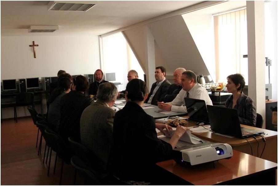 Consiliul Director - Caritas Mitropolitan Blaj