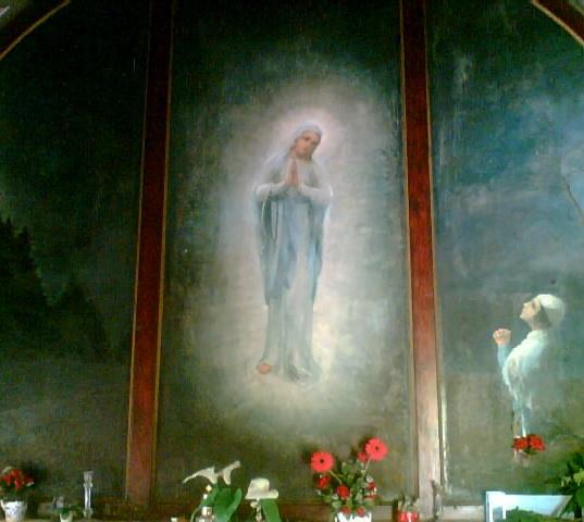 Pelerinaj la bisericuţa « Fecioara Săracilor » din Cărbunari