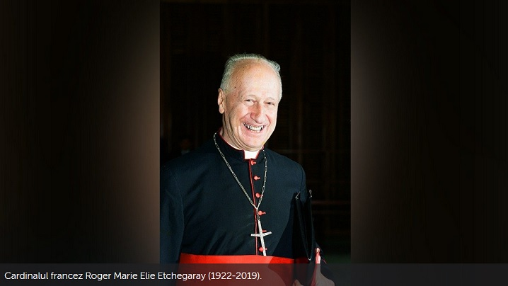 "A murit cardinalul francez Roger Etchegaray, ""om de dialog și de pace"""