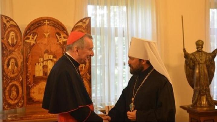 Cardinalul Parolin în Federația Rusă