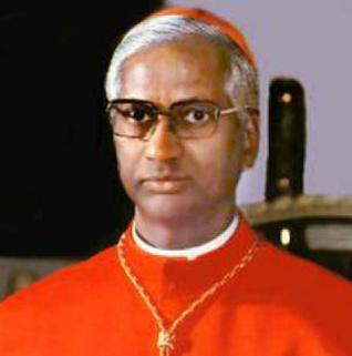 Condoleanțele Papei Francisc pentru moartea cardinalului Lourdusamy
