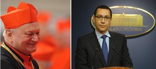 Scrisoarea Cardinalului Lucian către Primul Ministru Victor Ponta