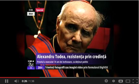 CARDINALII ROMÂNIEI. Alexandru Todea, simbolul rezistenţei prin credinţă