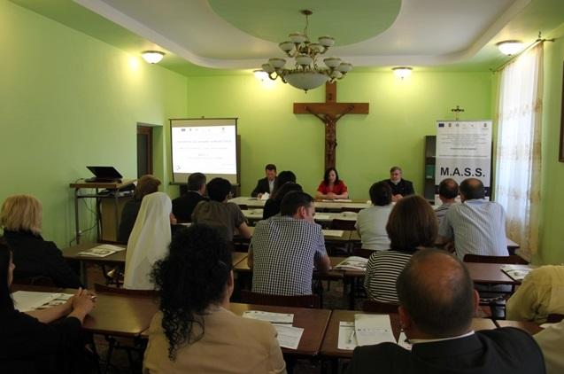 """Blaj: Caritas a lansat Proiectul """"Masuri Active de Succes pentru Someri"""""""