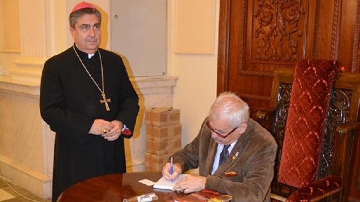 FOTO: Contribuții ale Bisericii Române Unite cu Roma, Greco-Catolică, la Marea Unire (lansare de carte)