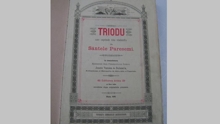 Triodul – carte liturgică