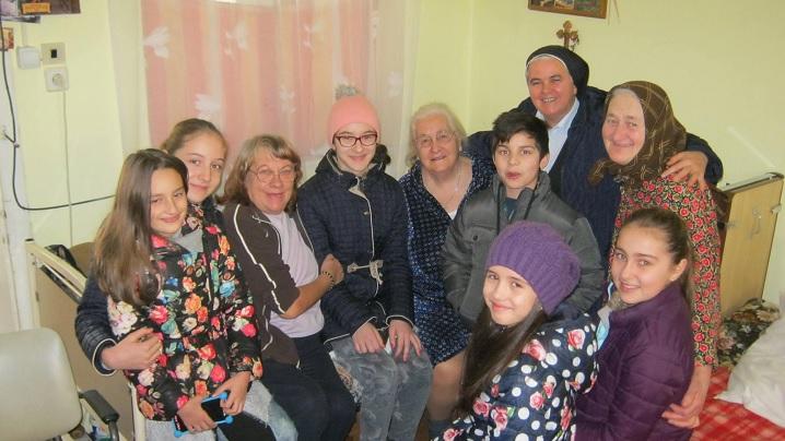 Ziua Bolnavului la Casa de Bătrâni din Blaj