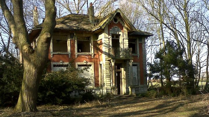 O casă care nu mai este locuită…